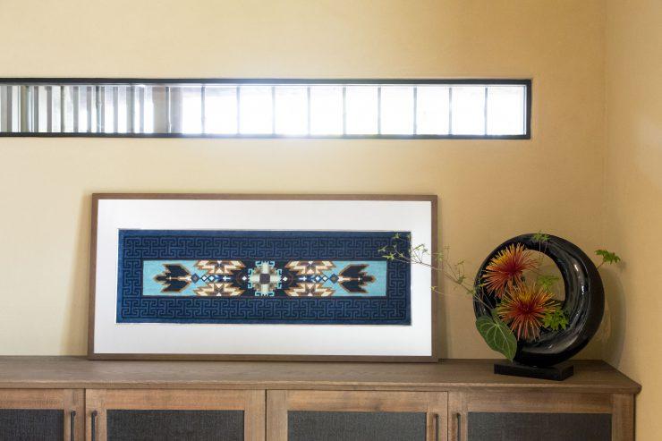 Fletching Motif, frame design; Kojimon by Kazuko Ikegami