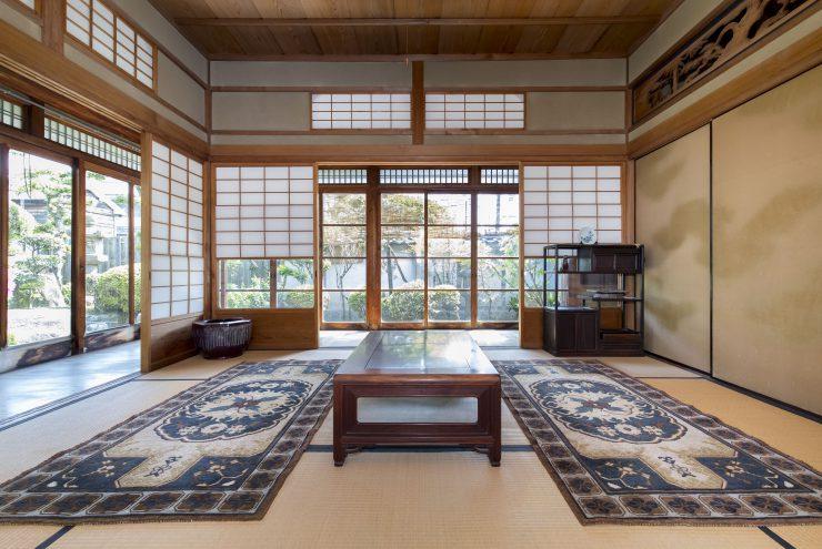 Ako-Dantsu Vintage Rugs (Mr. & Mrs.Tsuchitani's possession in Ako)